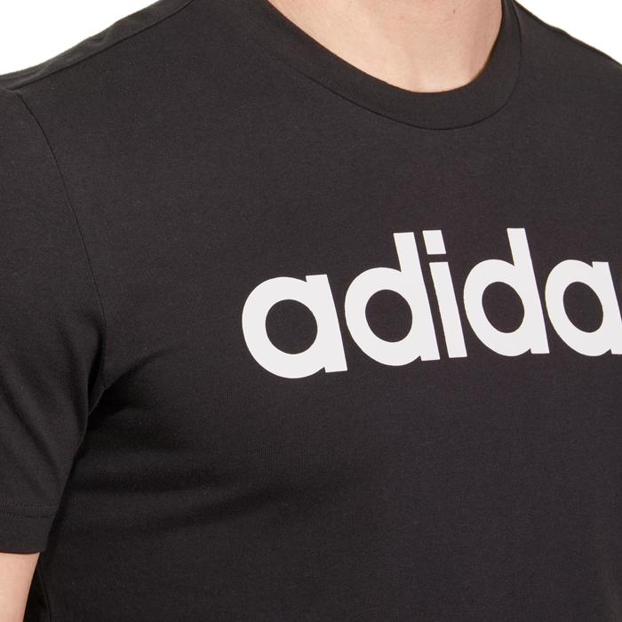 T-shirt Adidas 500 Gym Stretching noir homme - 1185685