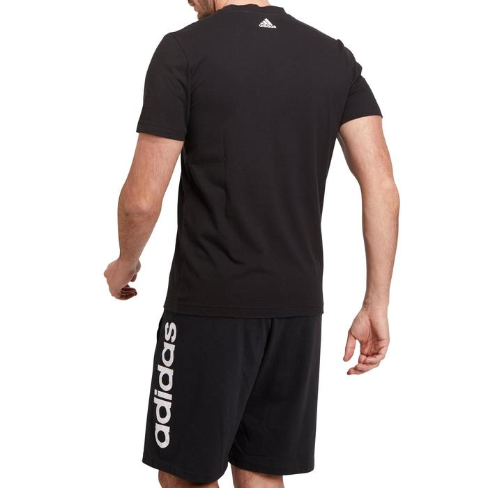 T-shirt Adidas 500 Gym Stretching noir homme - 1185723