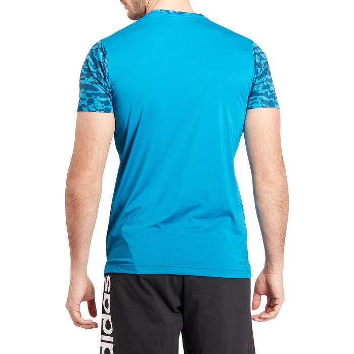 T-shirt fitness homme bleu - 1185775