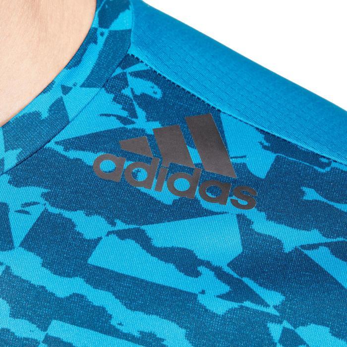 T-shirt fitness homme bleu - 1185822