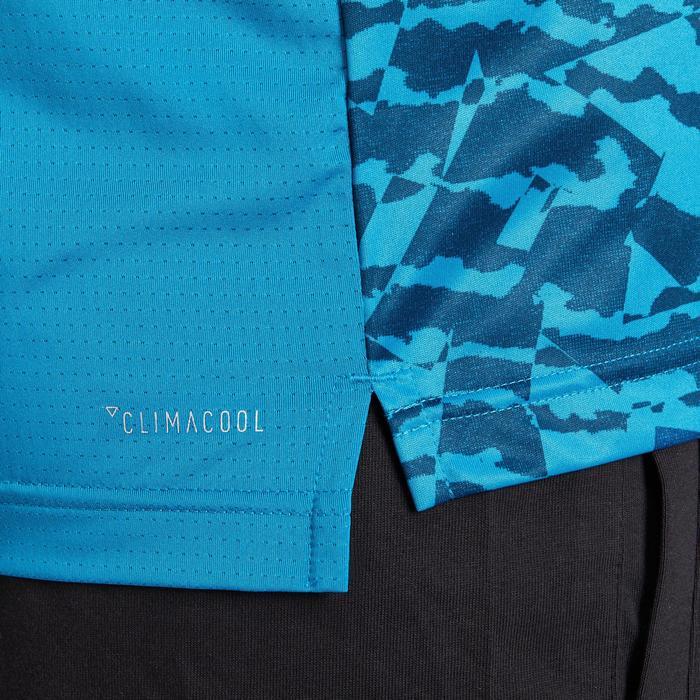 T-shirt fitness homme bleu - 1185829