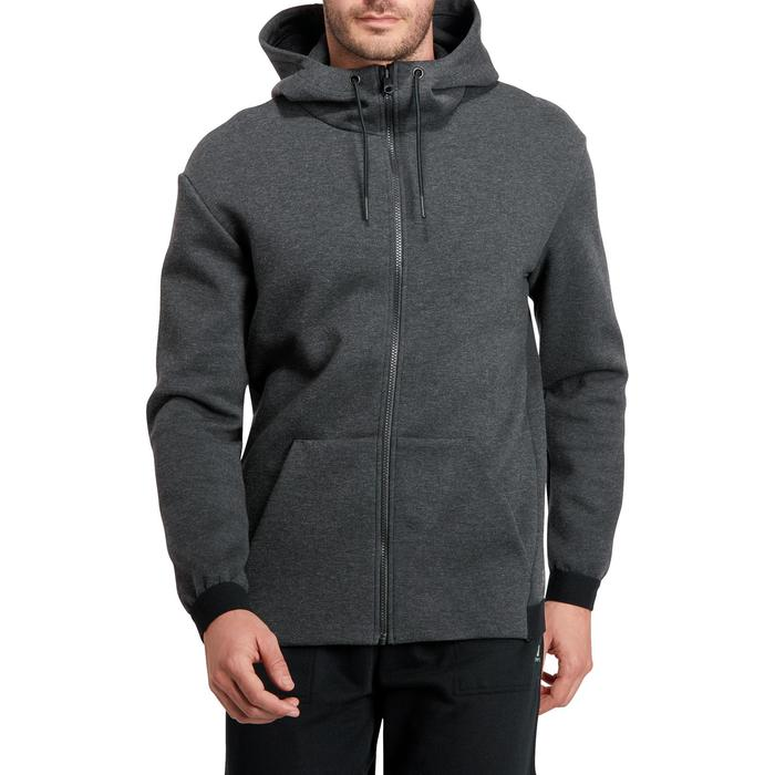 Veste 560 capuche Gym Stretching homme - 1185839
