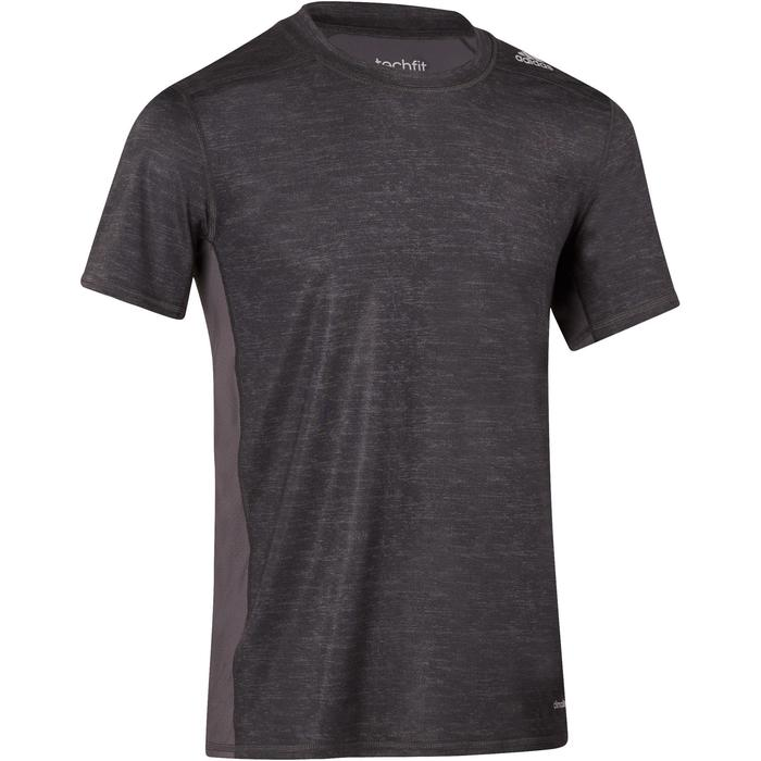 T-shirt fitness homme gris - 1185843