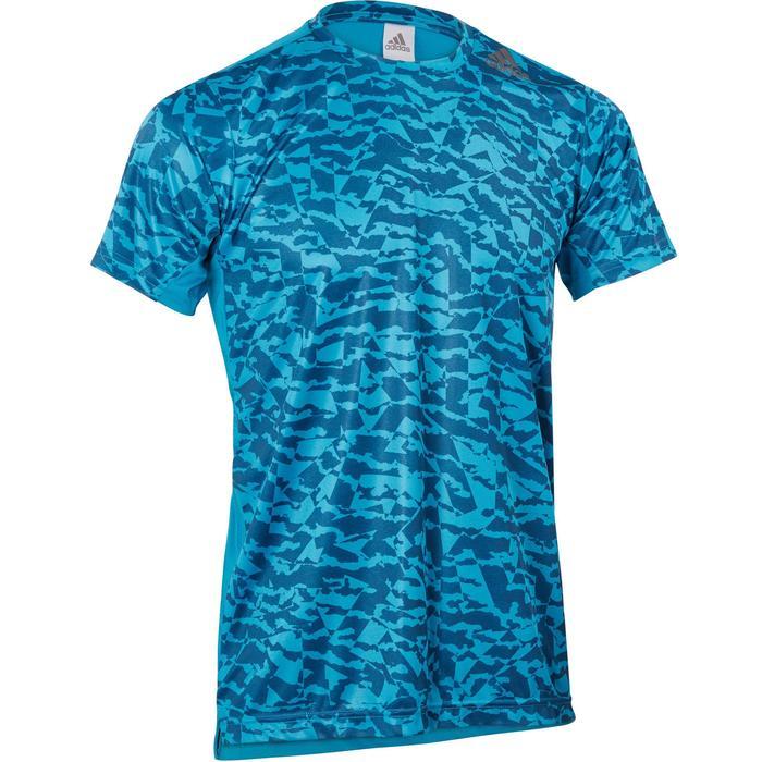 T-shirt fitness homme bleu - 1185865