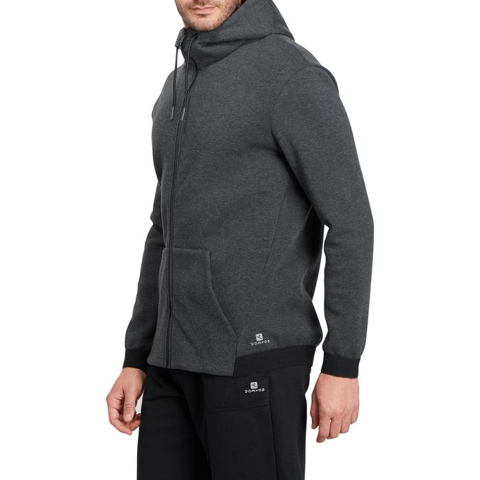 Veste 560 capuche Gym Stretching homme - 1185877