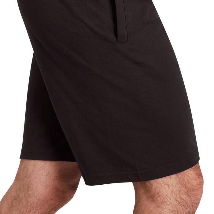 Pantalón Corto Gimnasia y Pilates Adidas Hombre Negro Adidas  a2fc7c404e1b