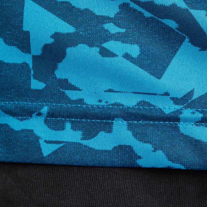 T-shirt fitness homme bleu - 1185906
