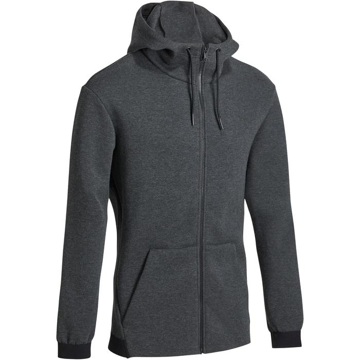 Veste 560 capuche Gym Stretching homme - 1185910