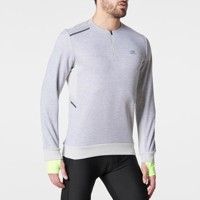Run Warm+ Men's Running Long-Sleeved T-Shirt - Grey - 1185936