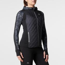 Bodywarmer jogging dames Run Warm zwart