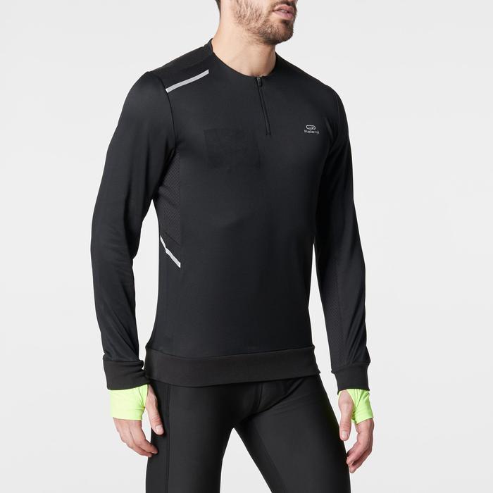 Run Warm+ Men's Running Long-Sleeved T-Shirt - Grey - 1185944