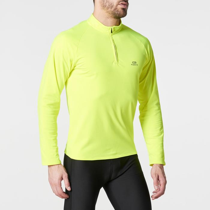 TEE SHIRT MANCHES LONGUES RUNNING HOMME RUN WARM - 1185955