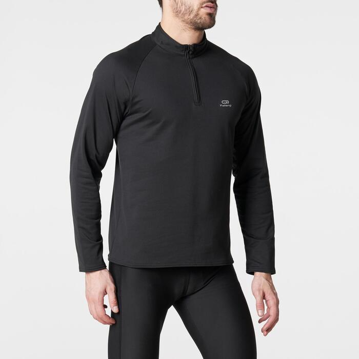 TEE SHIRT MANCHES LONGUES RUNNING HOMME RUN WARM - 1185974