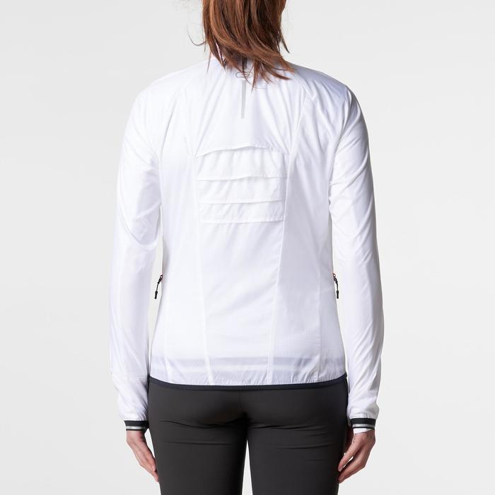 KALENJI KIPRUN WIND WOMEN'S RUNNING JACKET - WHITE - 1186002