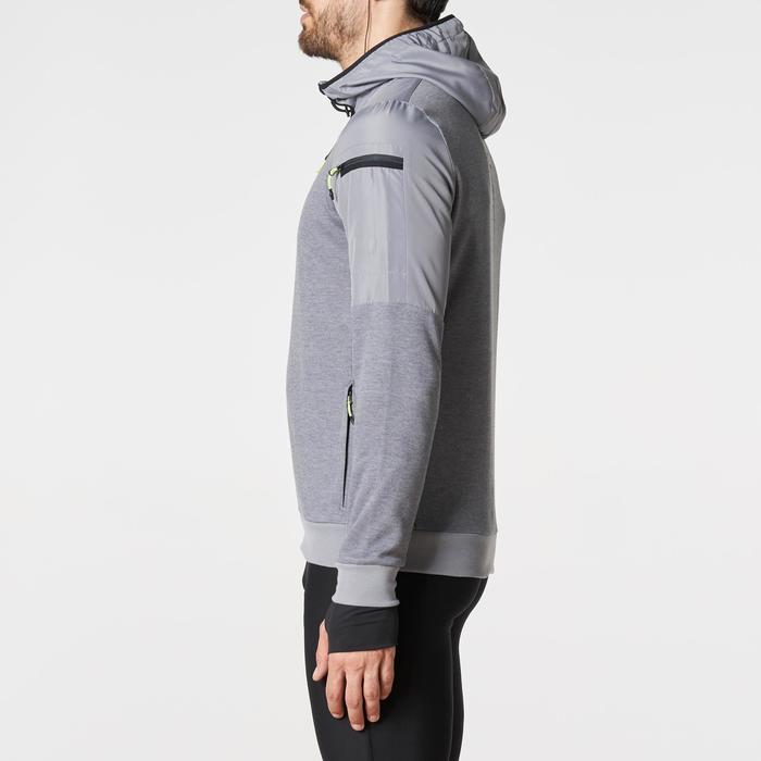 Laufjacke Run Warm+ Pocket Herren grau
