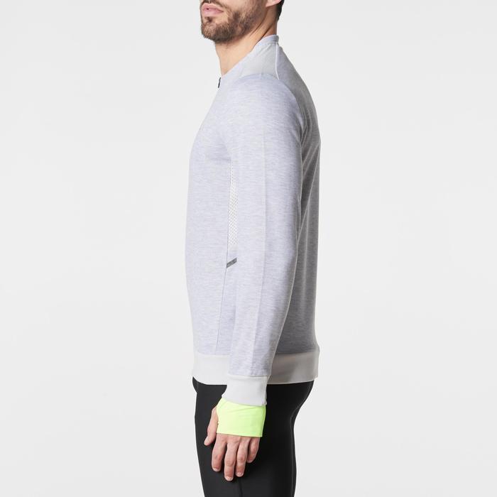 Run Warm+ Men's Running Long-Sleeved T-Shirt - Grey - 1186071