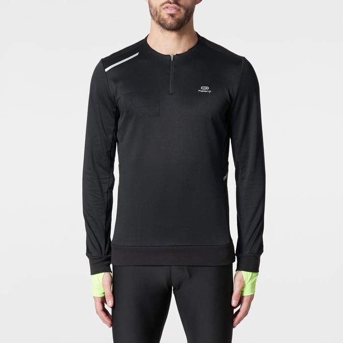 Run Warm+ Men's Running Long-Sleeved T-Shirt - Grey - 1186088