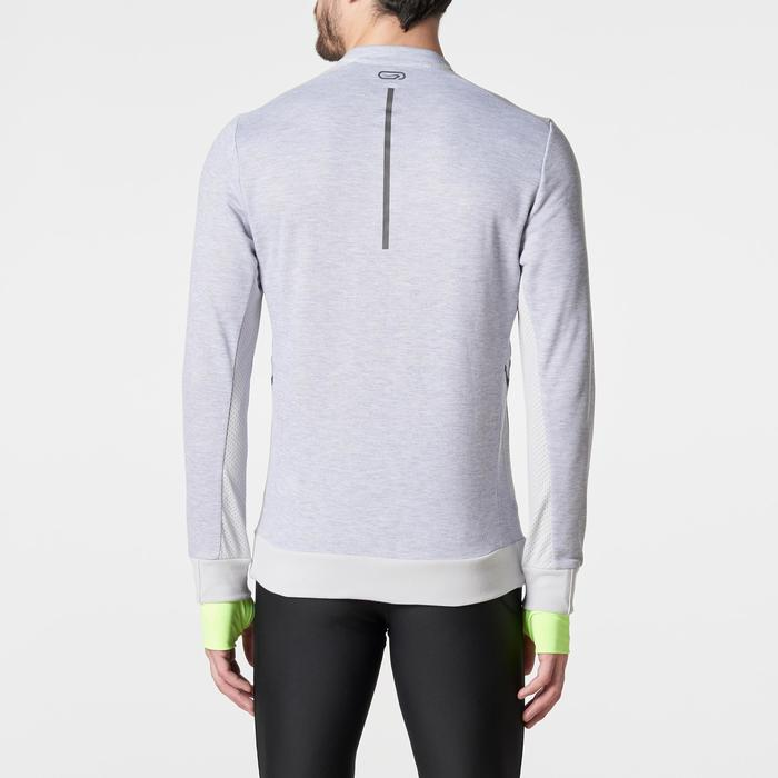 Run Warm+ Men's Running Long-Sleeved T-Shirt - Grey - 1186096