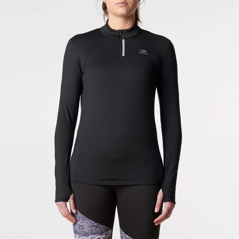 KADIN HOBİ AMAÇLI KOŞU SOĞUK HAVA GİYİM Koşu - RUN WARM UZUN KOLLU TİŞÖRT KALENJI - Kadın Koşu Kıyafetleri