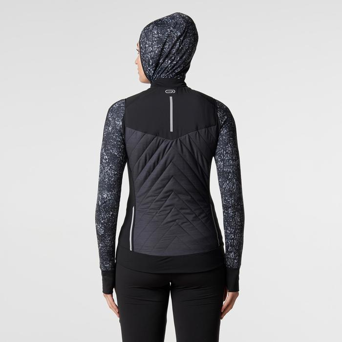 GILET SANS MANCHES JOGGING FEMME RUN WARM - 1186162