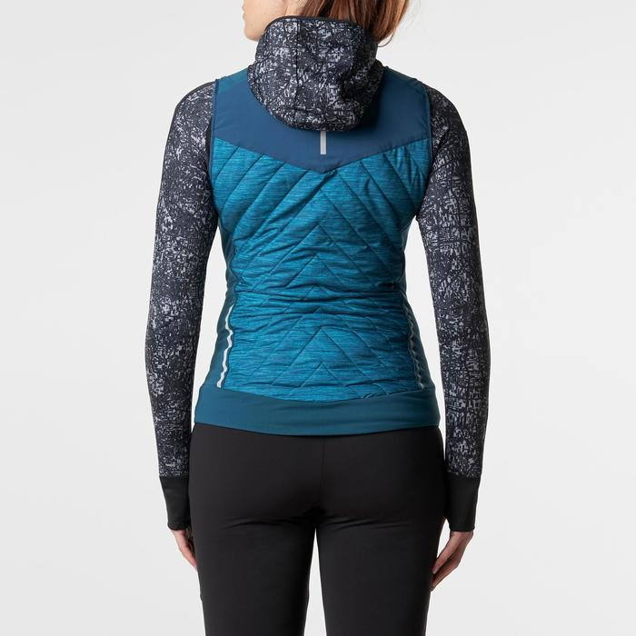 GILET SANS MANCHES JOGGING FEMME RUN WARM - 1186190