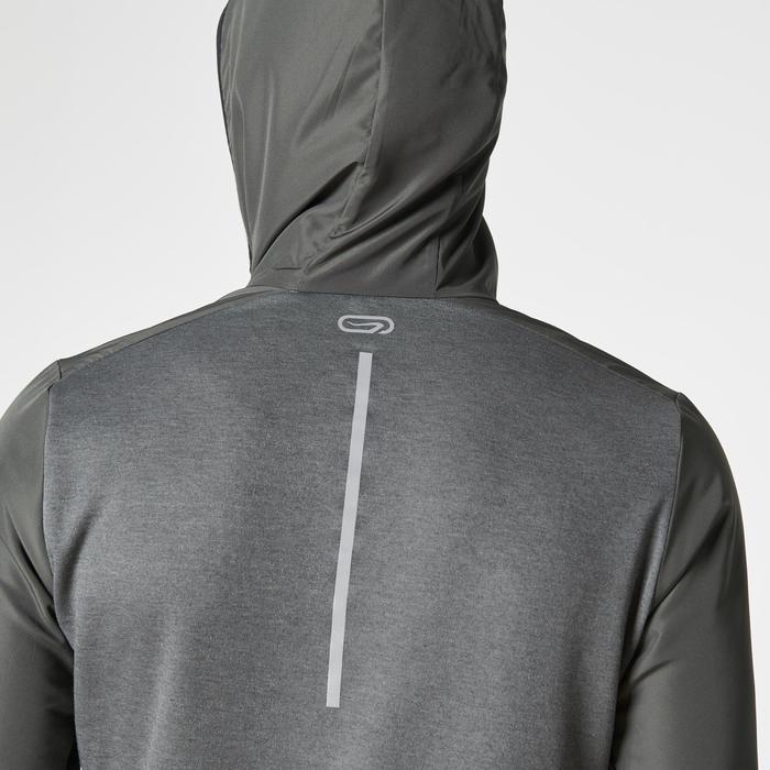 Run Warm + Men's Running Jacket - Khaki