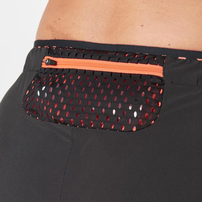 Kalenji Kiprun Women's Running Trousers - Black / Coral