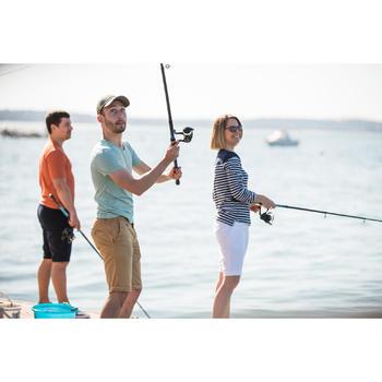 Casquette de pêche 500 gris