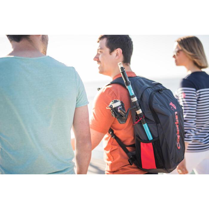Brusttasche, Chest Pack, dunkelgrau