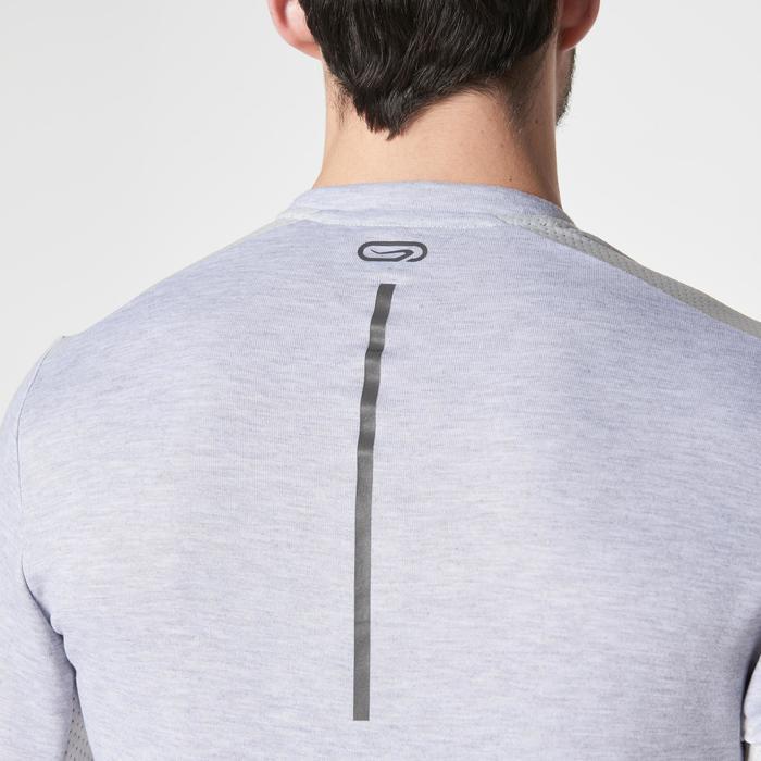 Run Warm+ Men's Running Long-Sleeved T-Shirt - Grey - 1186623