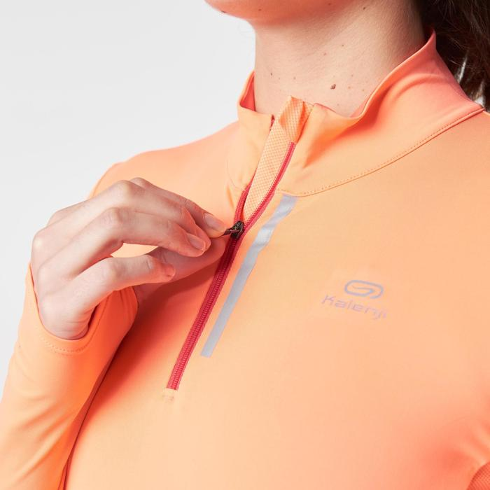 MAILLOT MANCHES LONGUES JOGGING FEMME RUN DRY+ ZIP - 1186648
