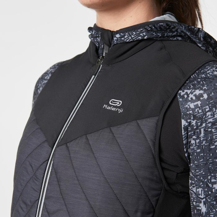 GILET SANS MANCHES JOGGING FEMME RUN WARM - 1186683