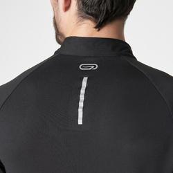 Run Warm Men's Long-Sleeved T-Shirt - Black