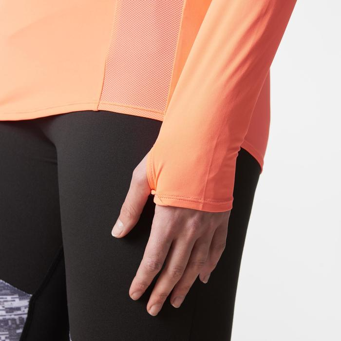 MAILLOT MANCHES LONGUES JOGGING FEMME RUN DRY+ ZIP - 1186704