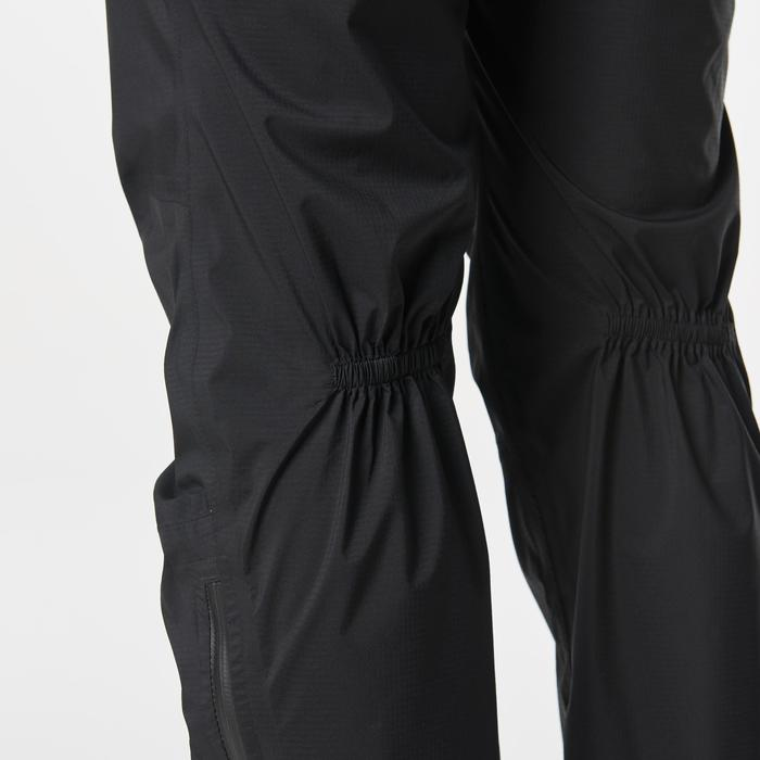 Pantalon imperméable trail running noir femme - 1186714