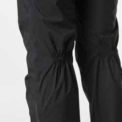 Regenhose Laufen wasserdicht Damen schwarz