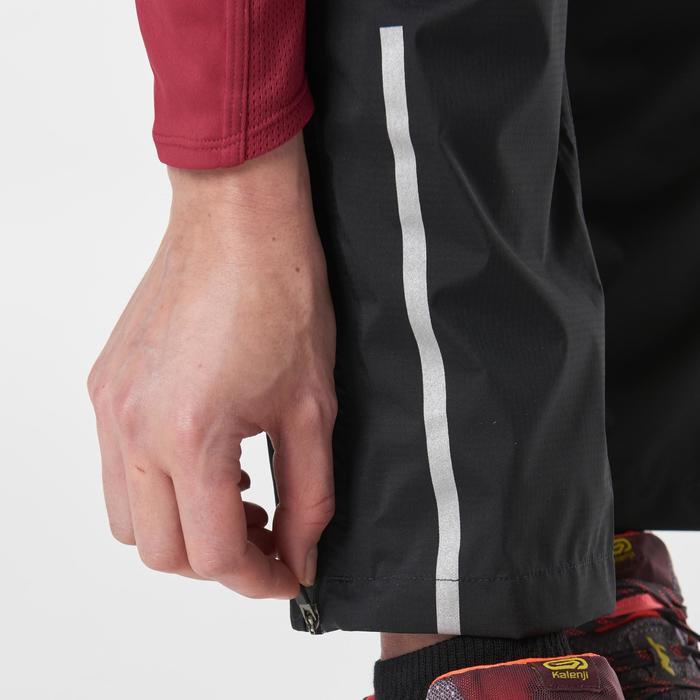 Pantalon imperméable trail running noir femme - 1186758