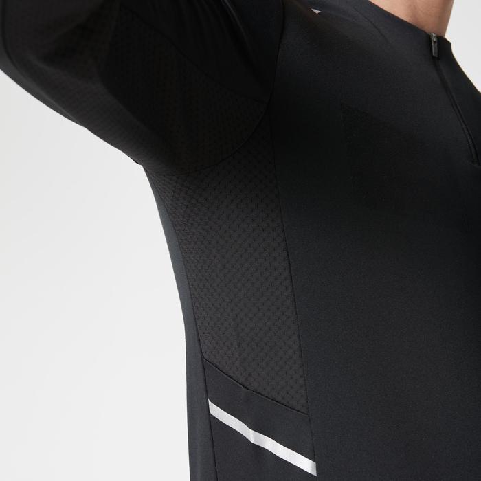 Run Warm+ Men's Running Long-Sleeved T-Shirt - Grey - 1186779