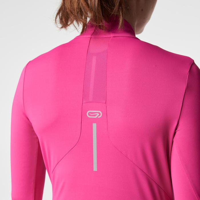 MAILLOT MANCHES LONGUES JOGGING FEMME RUN DRY+ ZIP - 1186787