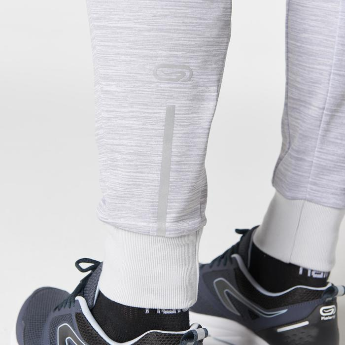 PANTALON RUNNING HOMME RUN WARM+ BLANC