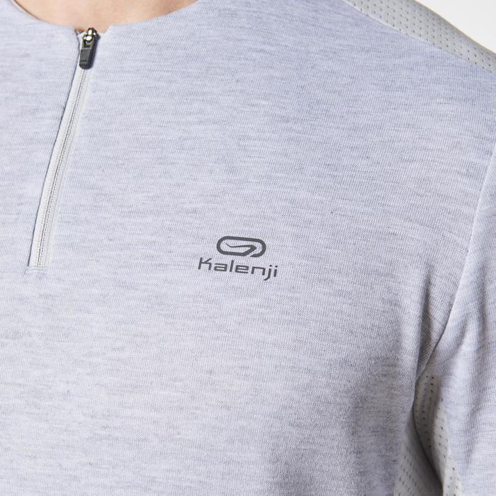 Run Warm+ Men's Running Long-Sleeved T-Shirt - Grey - 1186810