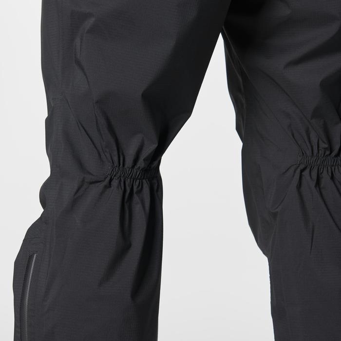 Pantalón impermeable trail running negro hombre
