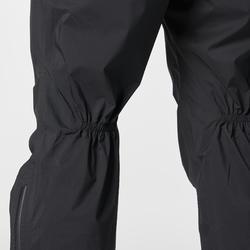 Regenbroek voor traillopen zwart heren