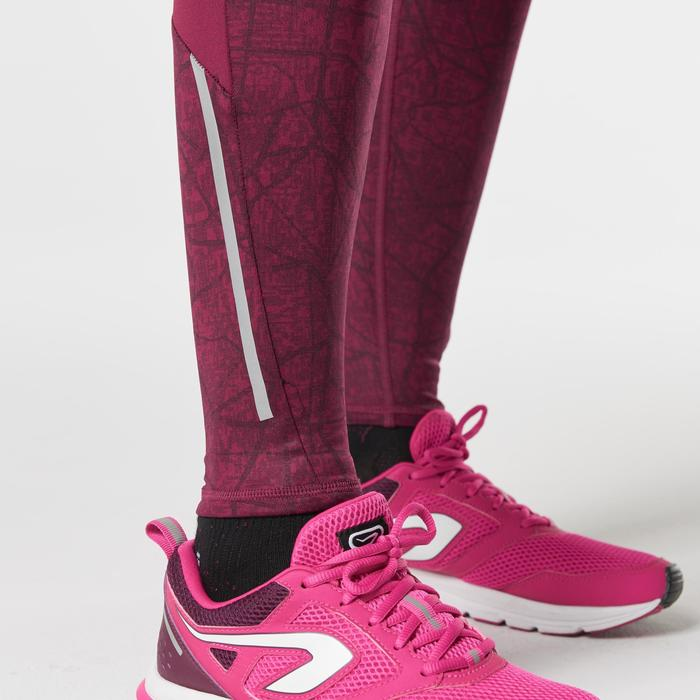 COLLANT JOGGING FEMME RUN WARM+ BORDEAUX