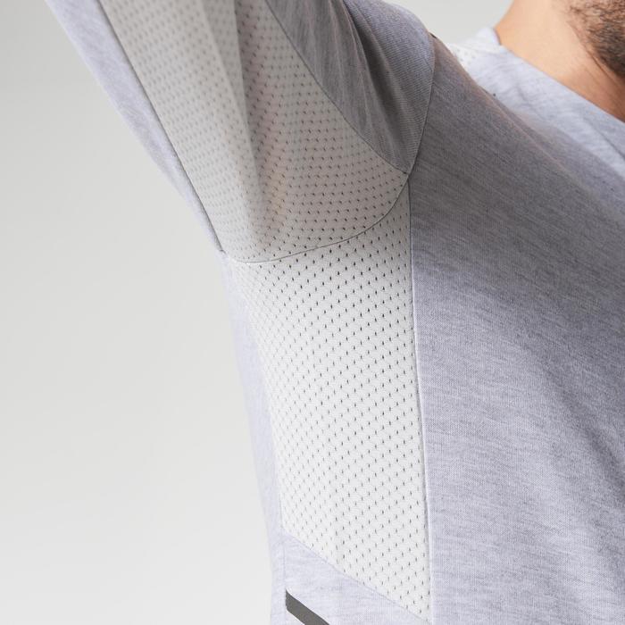 Run Warm+ Men's Running Long-Sleeved T-Shirt - Grey - 1186858