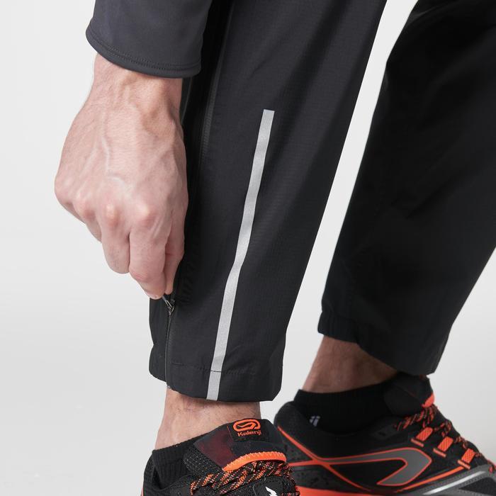 Pantalon imperméable trail running homme noir - 1186905
