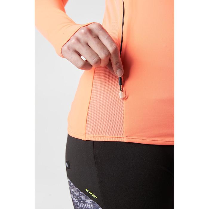 MAILLOT MANCHES LONGUES JOGGING FEMME RUN DRY+ ZIP - 1186926
