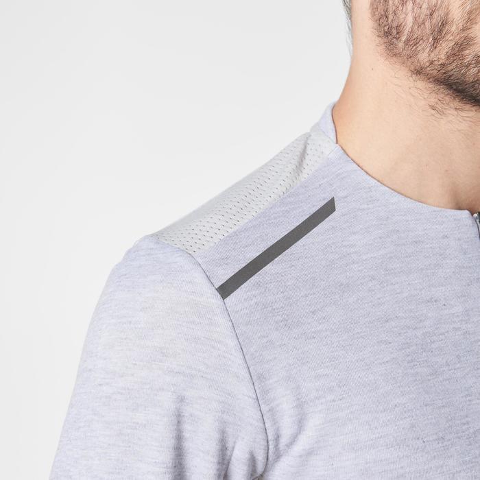 Run Warm+ Men's Running Long-Sleeved T-Shirt - Grey - 1187000