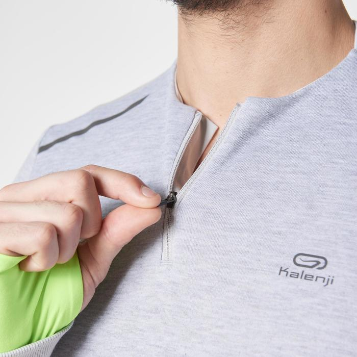 Run Warm+ Men's Running Long-Sleeved T-Shirt - Grey - 1187004