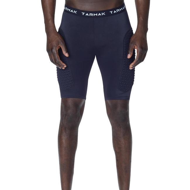 Protective Base Layer Intermediate Basketball Shorts - Black